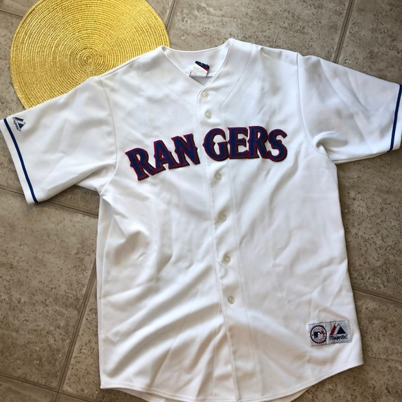 newest bd022 d02ae Texas Rangers Jersey, size Large